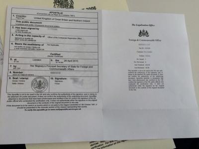 英国外交部认证和中国驻英国大使馆认证有什么区别?